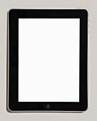 A Blank iPad