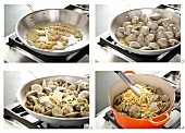 Steps for Making Clam Scampi