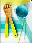 Spring Table and Dishware