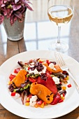 Roasted Peppers with Goat Cheese and Olive Tapenade