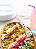 Cobb Salad (Gemischter Salat, USA)