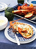 Crayfish with lemon mayonnaise