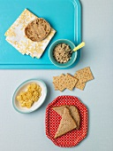 Grains: English Muffin, Toast, Rotelle, Crackers and Granola
