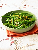 Green Beans with Orange Zest