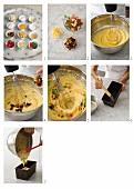 English teacake being made