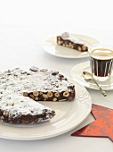 Panforte e caffè (fruit cake and coffee, Italy)