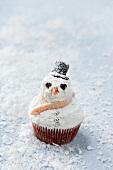 Cupcakes als Schneemänner