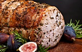 Pork Roast with Figs and Rosemary