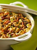 Chicken and artichoke bake