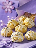 Lemon and lavender biscuits