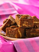 Pecan nut slices