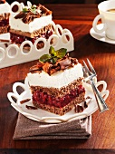 Black Forest Gateau slices