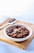 Tapenade with sesame seeds and lime zest