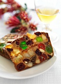 Cathedral Cake (English Christmas fruit cake)