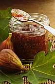 Fig and orange marmalade