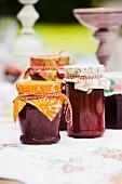 Home-made strawberry jam