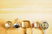 Various tea strainers