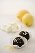 Cake Balls (Zitrone-Frischkäse)