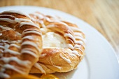 Cheese Danishes; Close Up