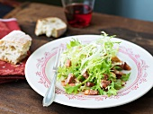 Frisee Salad with Pancetta