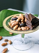 Raw Foods; Dark Chocolate and Cocoa Beans