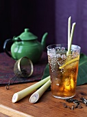 Glass of Lemongrass Iced Tea