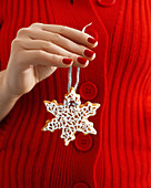 Home-baked Christmas tree decoration