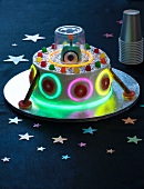 UFO-Kuchen für die Kinderparty