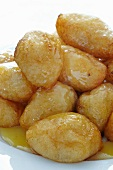 Loukoumades; Close Up