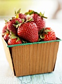 A Carton of Fresh Strawberries