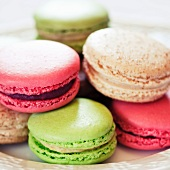 Multi-Colored Macaroons