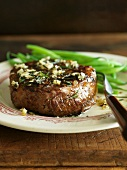 Rosemary Garlic Steak with Green Beans