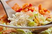 Glass noodle salad with vegetables (Korea)