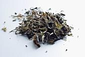 Pai Mu Tan tea leaves