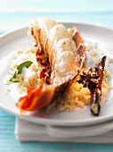 Lobster with spicy couscous