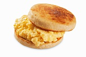 Egg Sandwich Made with Egg Substitute on an English Muffin