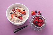 Bircher muesli with fresh berries