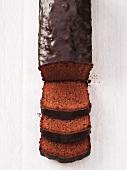 Sacher cake (chocolate cake)