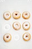 Doughnuts mit Zucker