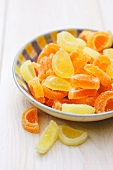 Candied citrus fruit