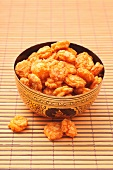 Oriental rice crackers
