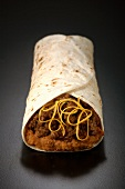 Beef and Bean Burrito