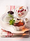 Creamy dessert variations