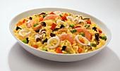 Risotto zafferano e frutti di mare (seafood risotto)