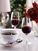 Coffee and coffee liqueur (Christmas)