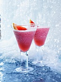 Pink Grapefruit daiquiris