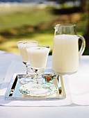 Eggnog cocktail (alcohol free)