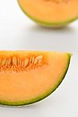 Cantaloupe melon (detail)