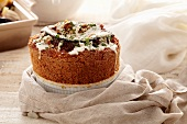 Souffle With Icing