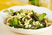 Bean and sweetcorn salad